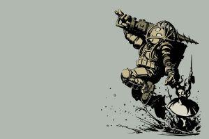 artwork bioshock video games
