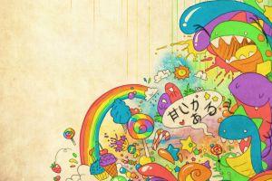 artwork colorful fantasy art