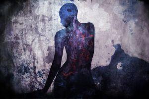 artwork digital art grunge women