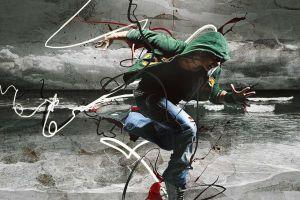 artwork digital art men abstract dancer