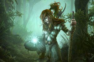 artwork fantasy girl fantasy art elves