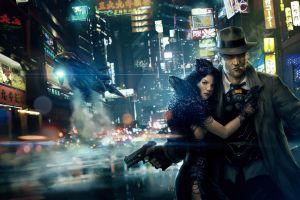 artwork futuristic city futuristic cyberpunk