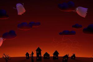 artwork halloween sky