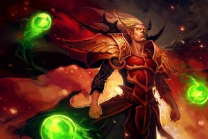 artwork kael'thas sunstrider world of warcraft video games blood elf