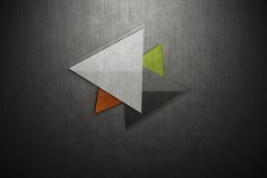 artwork minimalism texture triangle