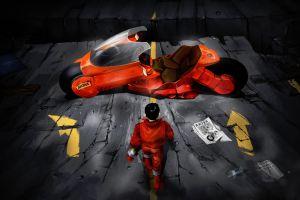 artwork motorcycle akira