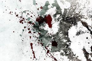 artwork paint splatter grunge alex cherry
