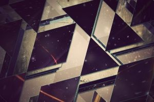 artwork photography digital art geometry triangle abstract