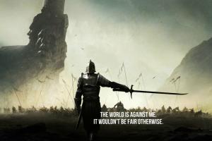 artwork quote warrior war fantasy art