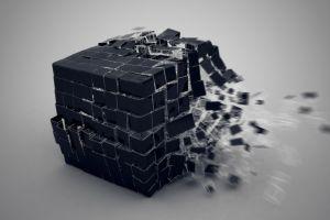 artwork render cube