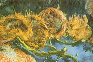 artwork sunflowers painting vincent van gogh classic art