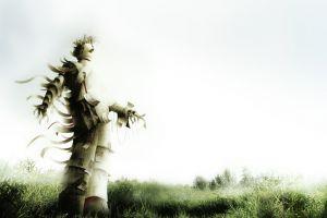 artwork surreal grass