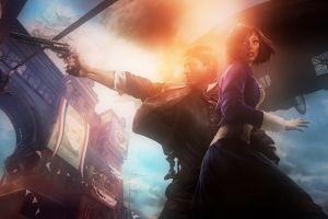 artwork video games bioshock infinite