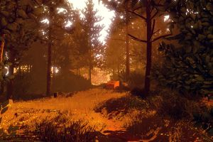 artwork video games firewatch