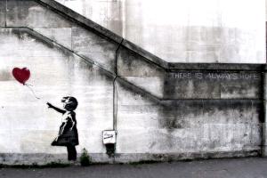 artwork wall urban banksy