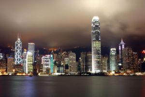 asia skyline cityscape hong kong