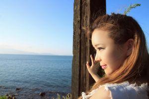 asian women outdoors women