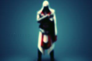 assassin's creed: brotherhood ezio auditore da firenze blurred video games assassin's creed
