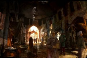 assassin's creed video games artwork middle east