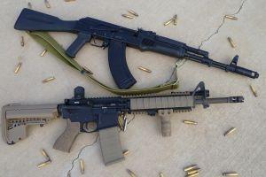 assault rifle weapon ar-15 gun
