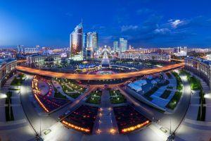 astana city kazakhstan cityscape
