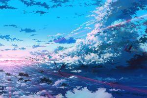 atmosphere sky fantasy art anime dragon