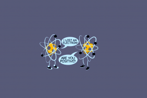 atoms simple background science minimalism humor