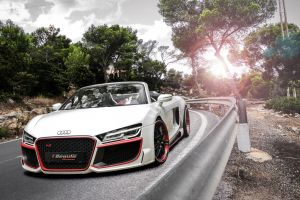 audi car front angle view vehicle white cars audi r8
