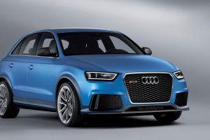 audi q3 suv blue cars audi car