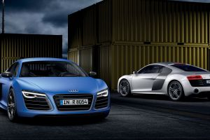 audi r8 v10 plus vehicle front angle view audi r8 blue cars audi r8 type 42 audi silver cars car