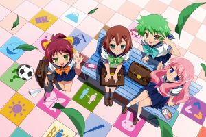 baka to test to shoukanjuu  anime girls anime boys anime