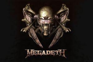 band logo band mascot megadeth big 4  skull metal band vic rattlehead music band