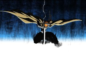 bankai bleach kurosaki ichigo sword anime