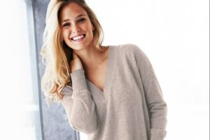bar refaeli long hair model blonde smiling women looking at viewer