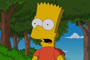 bart simpson the simpsons cartoon open mouth