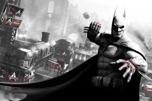 batman: arkham city batman rocksteady studios video games