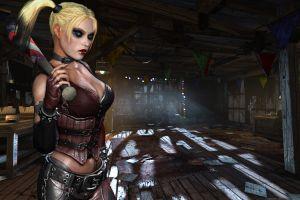 batman: arkham city harley quinn render video games cgi
