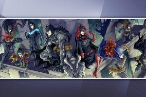 batman dc comics nightwing artwork red hood red robin batwoman batgirl robin (character) gotham city
