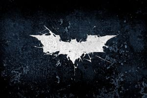 batman logo movies artwork the dark knight rises grunge