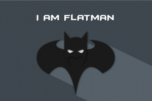 batman simple background artwork