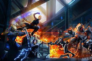 battle jack video games garrus vakarian commander shepard mass effect 2 mass effect science fiction cerberus  mass effect 3