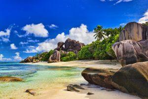 beach landscape nature sea