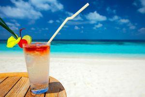 beach summer drink sea