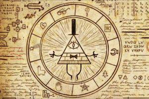 bill cipher  gravity falls illuminati artwork pentagram symbols