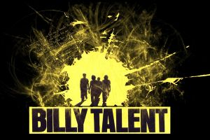 billy talent typography artwork