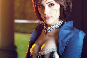 bioshock elizabeth (bioshock) boobs eve beauregard video games women necklace bioshock infinite