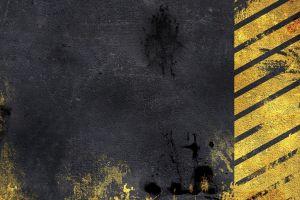 black artwork grunge stripes
