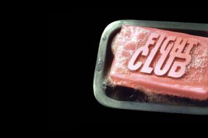 black background fight club soap movies