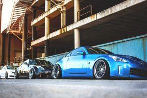 black cars white cars 350z nissan car vehicle blue cars