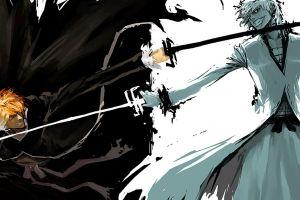 bleach anime kurosaki ichigo fighting hollow sketches